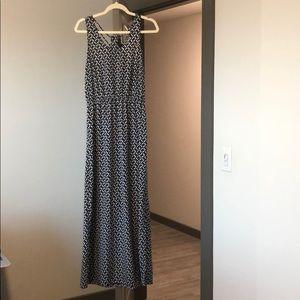 BANANA REPUBLIC GEOMETRIC MAXI DRESS